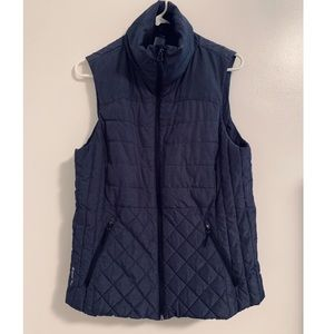 Champion Quilted Puffer Vest Venture Loft Gray